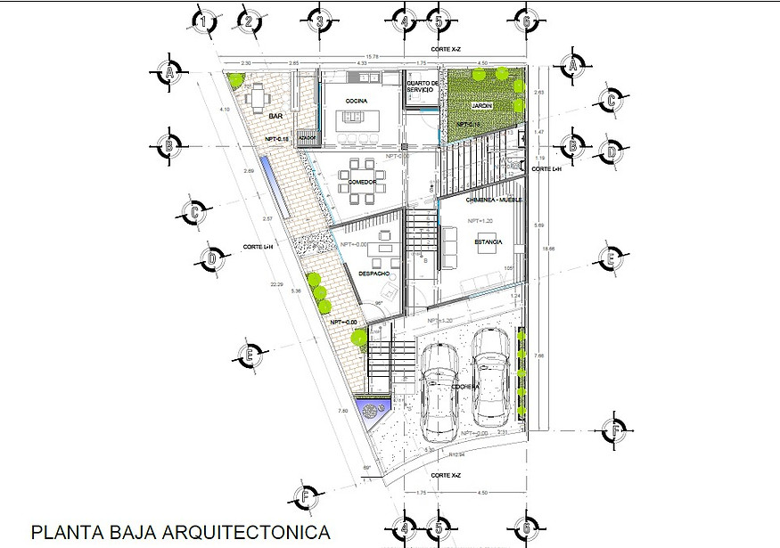 Proyectos planos arquitectonicos renders for Programas para disenar planos arquitectonicos
