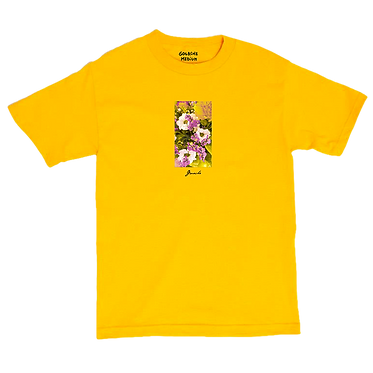 BOUQUET yellow tee