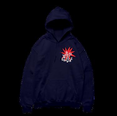 RISE navy hoodie