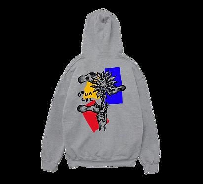TOURNESOL grey hoodie