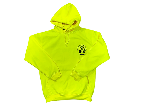 CALLUShoodie safety yellow