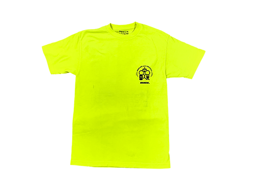 BACtee safety yellow