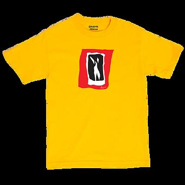 LA FILLE QUI DANSE yellow tee
