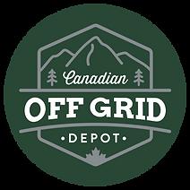 CanadianOffGridDepot_Logo_Colour Inverte