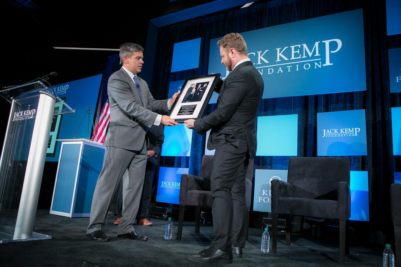 2018 Kemp Leadership Award Recipient, Philanthropist and Policy Entrepreneur Sean Parker