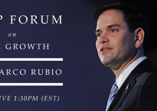 DC Kemp Forum on True Growth: Co-Sponsored by Google Featuring Senator Marco Rubio