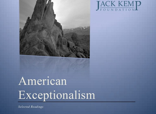 Selected readings on American Exceptionalism