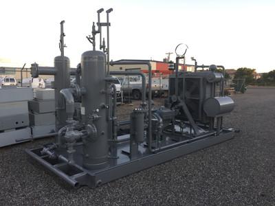 San Juan Compression natural gas compressor wellhead compression unit during manufacturing
