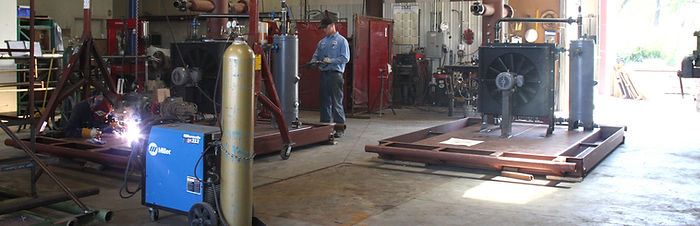 San Juan Compression manufacturing shop welding