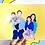 Thumbnail: Hand-Drawn Print - Family (unframed)