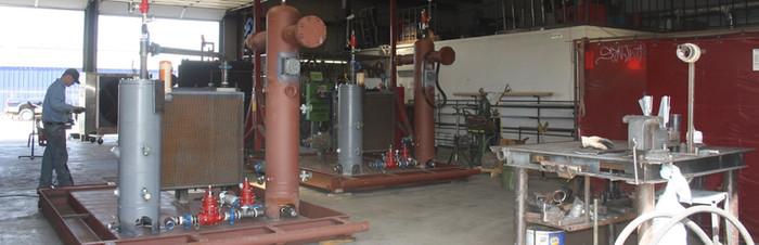 San Juan Compression natural gas compressor manufacturing shop