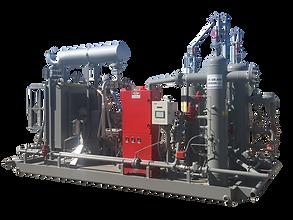 San Juan Compression Natural Gas International Wellhead Compressor exporting around the world