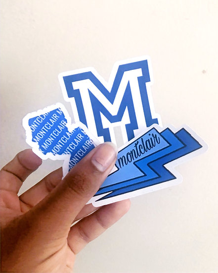 Montclair Stickers (Set of 3)