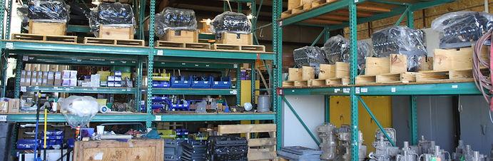 San Juan compression parts and inventory for natural gas compressor