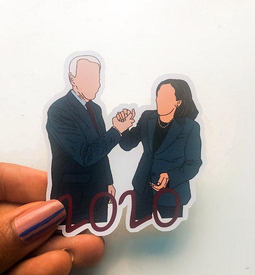 Biden Harris Sticker