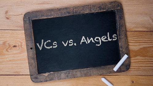 Angels vs Venture Capital Comparison Table
