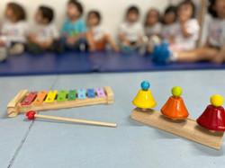 Os instrumentos na sala de aula