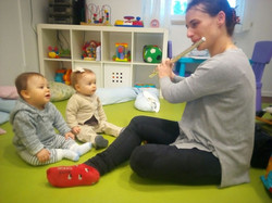 Música para Bebés   Prof. Cláudia Coelho