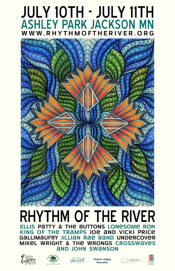 2015 Rhythm of the River Poster
