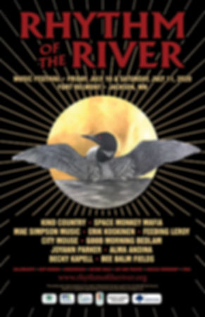 2020 Rhythm of the River Poster