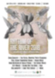 2018 Rhythm o the River Poster