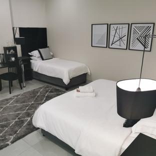 triple room interior