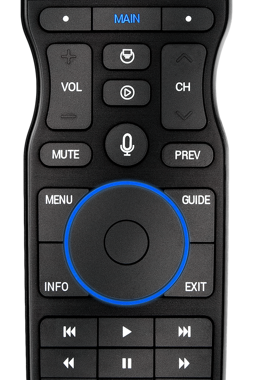 Wi-Fi Touchscreen Voice Remote