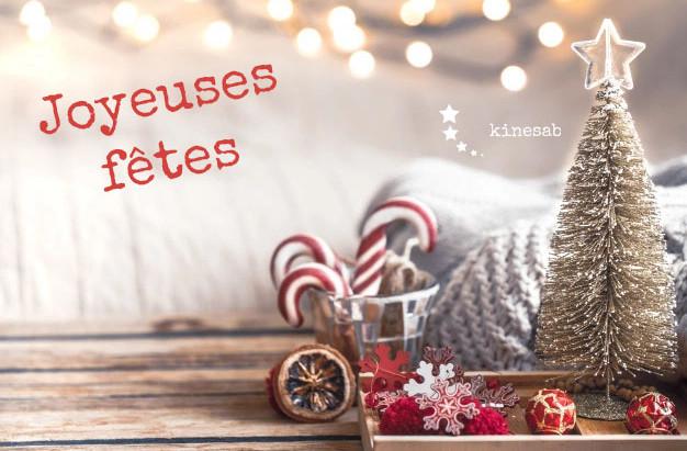 Vacances - Joyeux Noël et bonne année