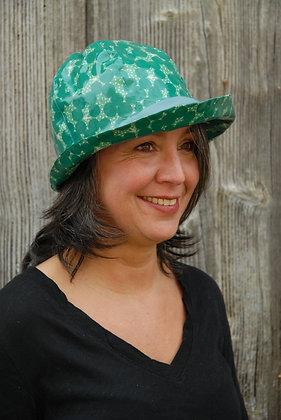 Chapeau de pluie EchinoPois Vert Clair