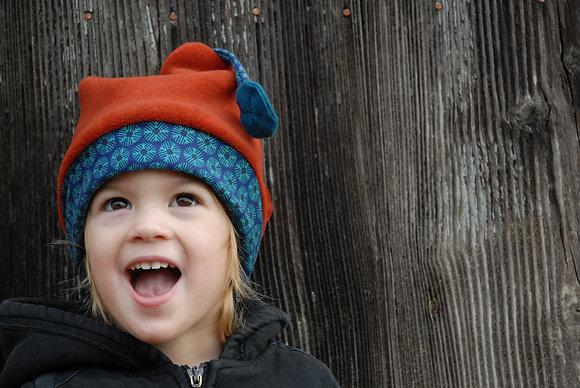 Bonnet Enfant Potiron 4/7 ans