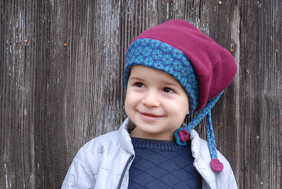Bonnet Enfant Fuchsia 1/3 ans