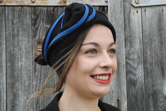 Bandeau Noir et Bleu
