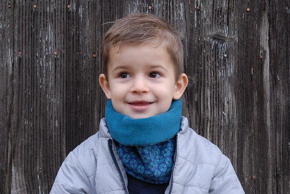 Tour de cou Enfant Bleu