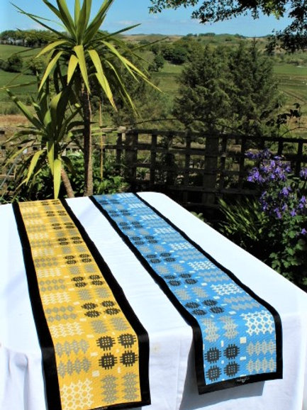 Welsh Tapestry Print Table Runner