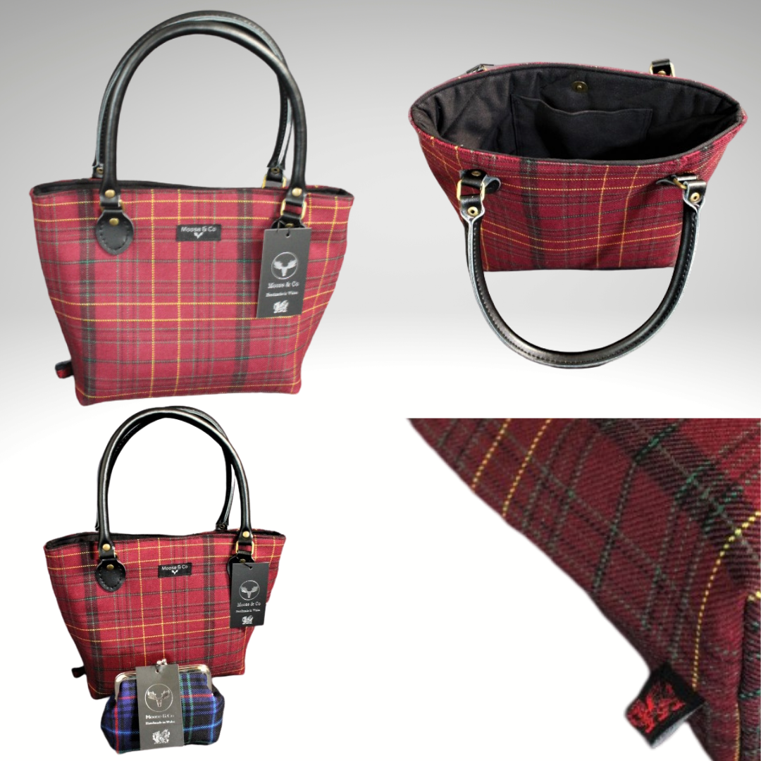 Williams Welsh Tartan Handbag