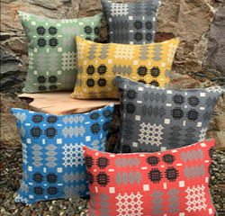 Welsh Tapestry Carthen Print Cushions
