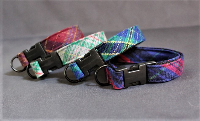 Welsh Tartan Dog Collars