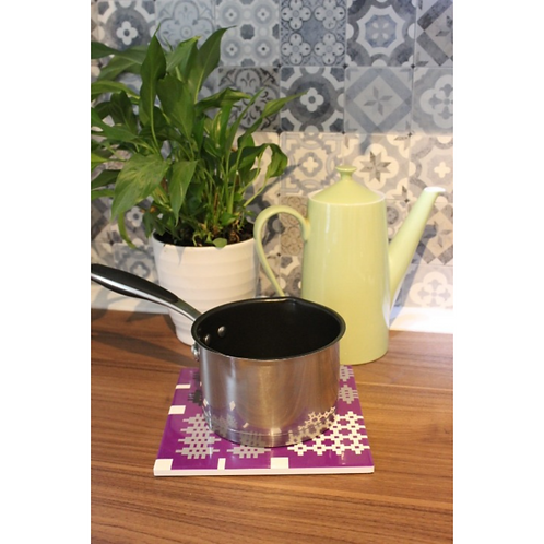 Welsh tapestry blanket print Trivets / Tea pot stand