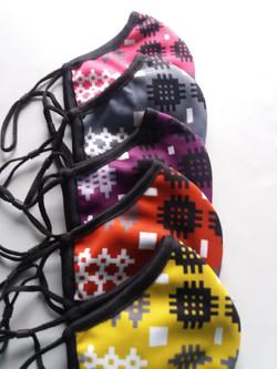 Welsh Tapestry Design Face Mask