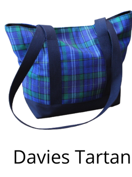 Welsh Tartan Shoulder / Tote bags