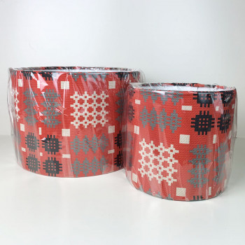 welsh red Tapestry Lampshades