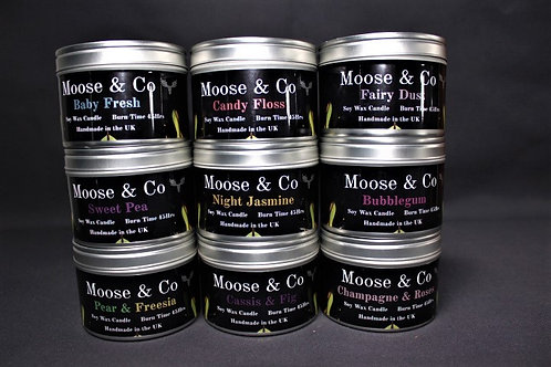 Large Candle Tins
