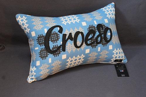 Welsh Tapestry Print Personalised Cushions Signature Range