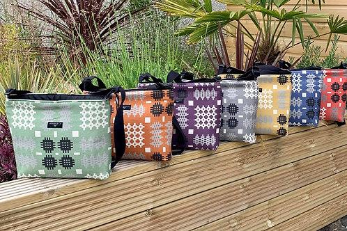 Welsh Tapestry Print Cross Body Bags