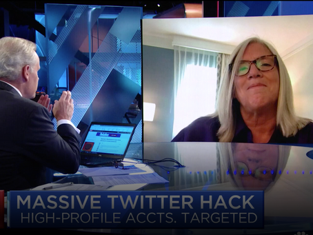 Sue Gordon Discusses the Hack of Twitter on CNBC