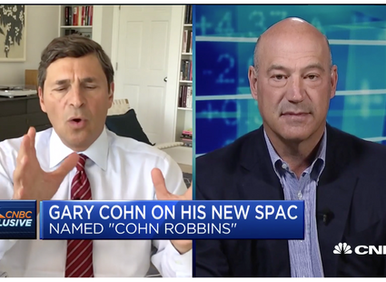 Gary Cohn Discusses New SPAC on CNBC