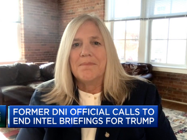 Sue Gordon Discusses State of Intelligence Community on PBS NewsHour and CNBC