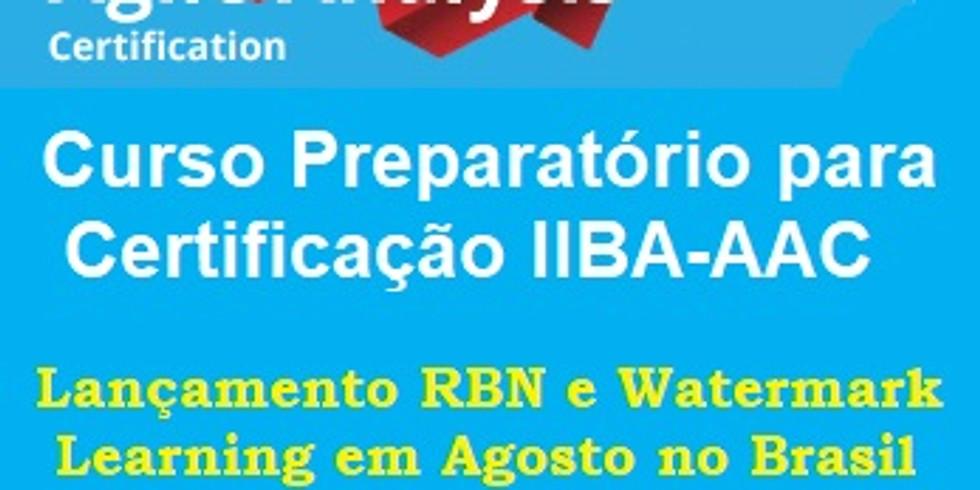Curso Online ao Vivo (OaV) Preparatório para Certificação IIBA-AAC