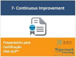 PMI-ACP 7-CI