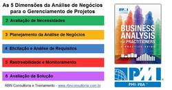 Dimensões do BA for Practioners PMI